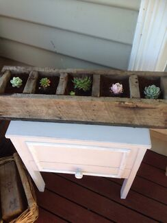 Rustic planter with succulents Deloraine Meander Valley Preview
