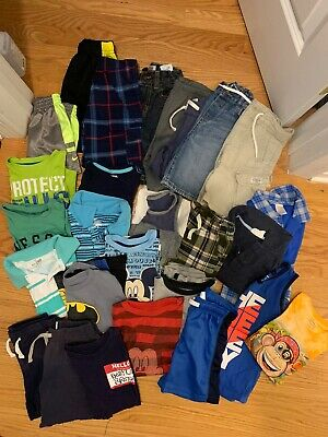 Toddler Boy 2T-3T Assorted Summer Clothes 27 Pieces