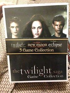 Twilight 3 game collection . 2/3 game sealed . Near mint !