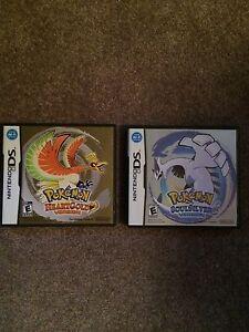 Pokemon HeartGold And Pokemon SoulSilver DS Games