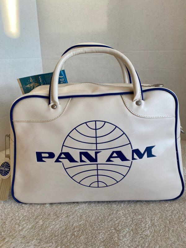 "PAN AM ""Orion""Bag Originals Certified Vintage Style Pan Am White"