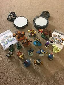 PS3 SKYLANDERS GIANTS AND SWAP FORCE LIKE NEW!