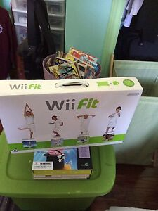 Wii fit brand new in the box