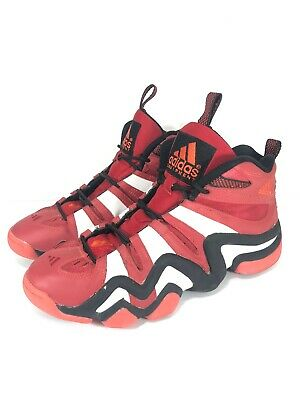 Adidas Crazy 8 Mens Red Black White Retro Kobe Basketball Shoes Size 10.5 G20784