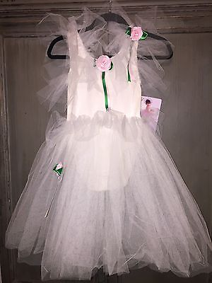 Puppet Workshop Fairy Tulle Tutu Skirt Costume Pink Rose Halloween - Tutu Rose Halloween
