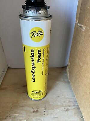 Pella Low Expansion Window Door Insulating Foam Sealant 20 Oz One Can Per Lot