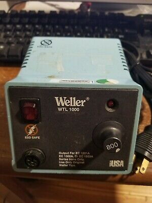 Weller Wtl 1000 Analog Soldering Station Power Unit