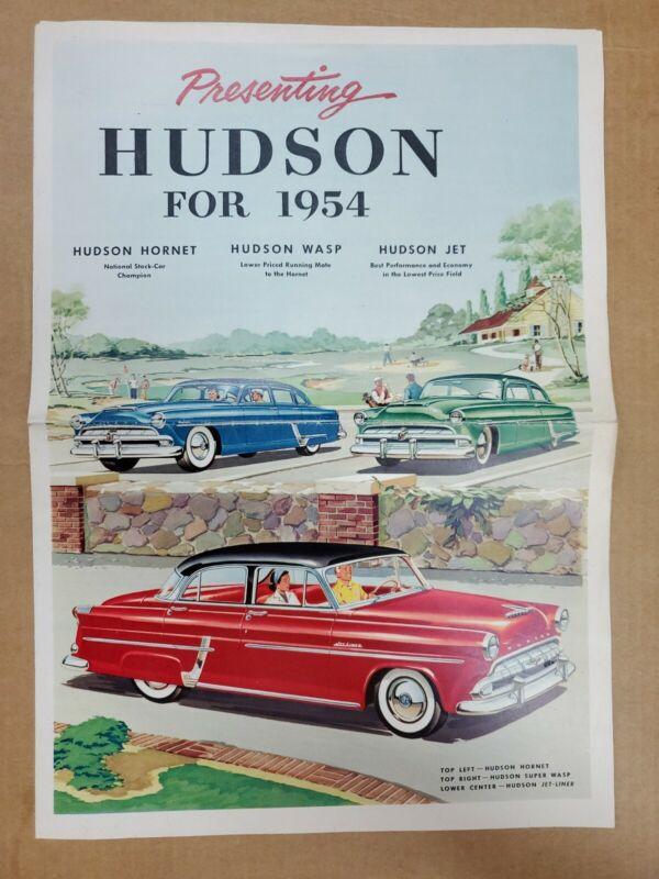 1954 Hudson brochure