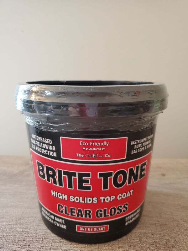 CrystaLac Brite Tone Instrument and Tumbler Finish / Polyurethane- 1 Quart