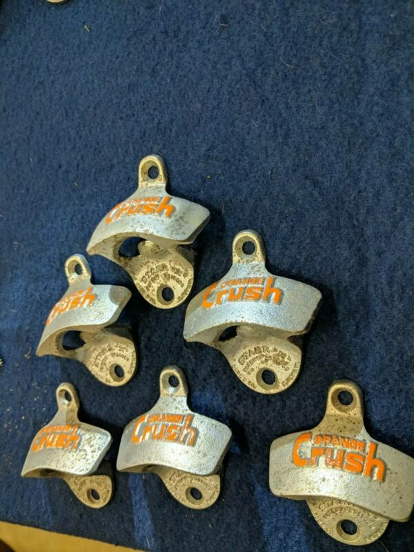 Starr X Bottle Opener Orange Crush one pc limited quantity Out Of Production