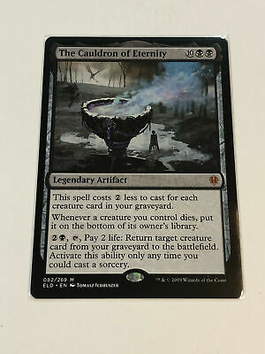 MTG - Mythic - The Cauldron of Eternity (ELD) - NM Pack Fresh