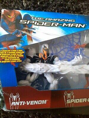 Marvel Universe ANTI VENOM Spider-Man Green Goblin Exclusive 3 Pack Not Legends