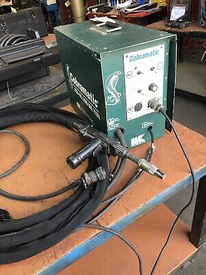 Mk Products Cobramatic Ia Push-pull Wire Feeder Mig Aluminum Set Up For Miller