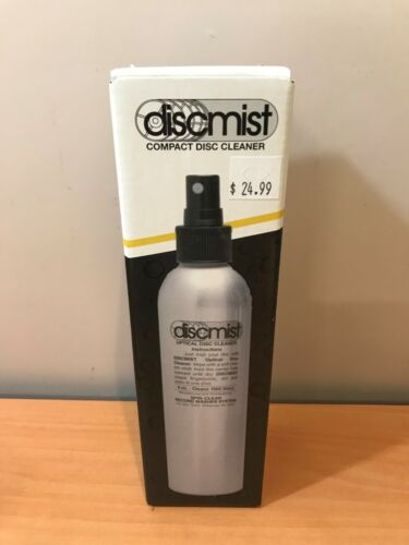 Spin Clean Discmist Compact Optical Disc Cleaner 8oz. Bottle