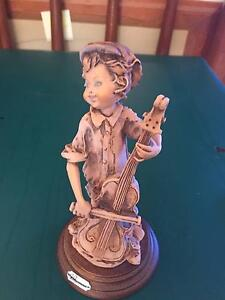 Boy with cello Figurine West Lakes Charles Sturt Area Preview