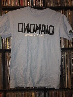 Rare Vintage Diamond Supply Co And Mighty Healthy Collab Shirt Blue Sz S Supreme