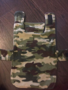 Army Multi Cam Sweater for a Puppy