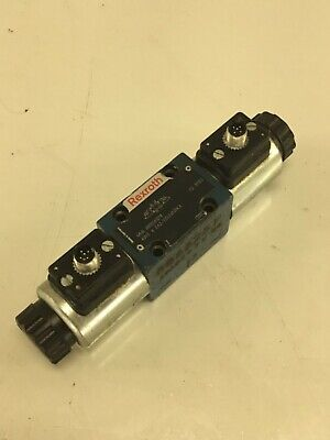 Rexroth Directional Control Valve 4WE 6 J62 / EG24N9K4, 24VDC Solenoids, Used