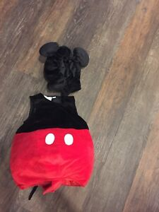 Mickey Mouse 18mth costume