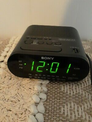 Sony Dream Machine AM/FM Alarm Clock Radio Model ICF-C218 TESTED
