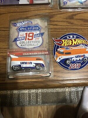 hot wheels rlc volkswagen drag bus 19th Nationals and Patch