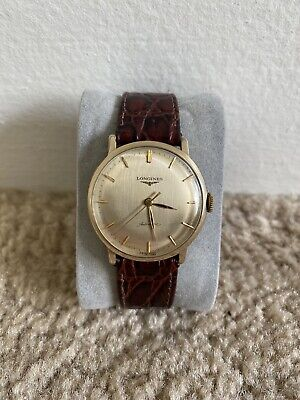 Vintage Longines Automatic Watch 10k Gold Filled