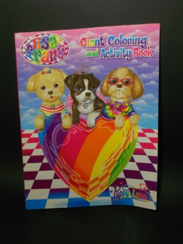Lisa Frank Puppy Love Coloring & Activity Book *FREE SHIPPING*
