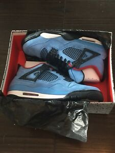 Nike Air Jordan 4 Travis Scott Cactus Jack size 10.5. DS