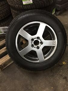 Volvo winter tires and aluminum wheels