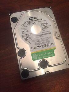 "750gb WD Green SATA hard-drive 3.5"""