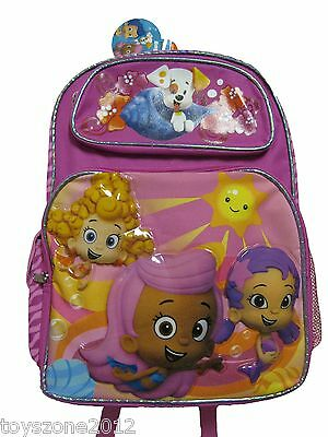 A03910 BUBBLE GUPPIES Large Backpack 16