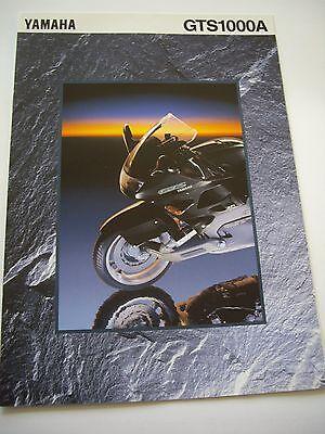 Yamaha GTS1000A sales brochure