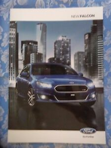 Ford Falcon FG brochure New Zealand issue March 2015