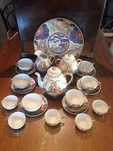 JAPANESE SATSUMA IMMORTALS 21 Piece Hand Painted Tea Set Carindale Brisbane South East Preview
