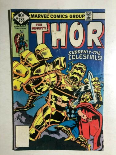 THOR #283 (1979) Marvel Comics The Celestials VG