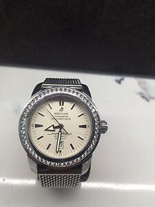 3ct diamond bezel for Breitling superocean heritage 46mm Bulimba Brisbane South East Preview