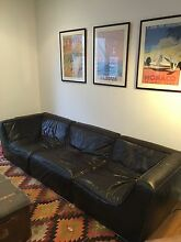 MOE designer leather modular couch Bondi Beach Eastern Suburbs Preview