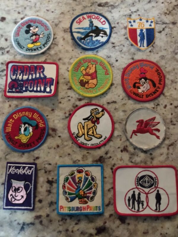 LOT OF PATCHES VERY RARE!!!!