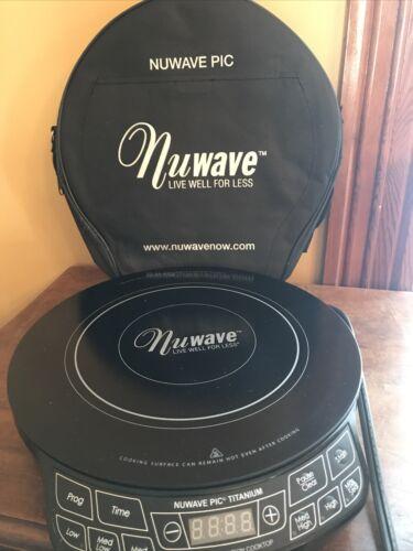 Nuwave PIC Titanium Precision Induction Cooktop burner 30341