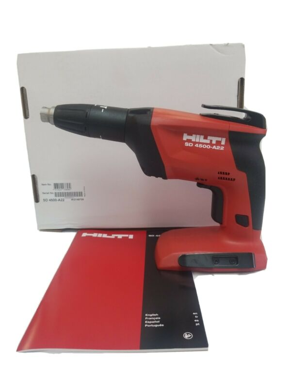 "Hilti Cordless Screwdriver SD 4500-A22 ""Body Only"""