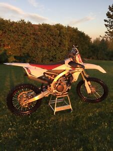 2014 Yamaha YZ 250F Special Edition VERY LOW HOURS!
