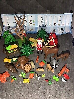 Playmobil 4155 Animals & Food, Tree, Father christmas