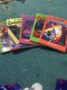 Give goosebumps books for sail