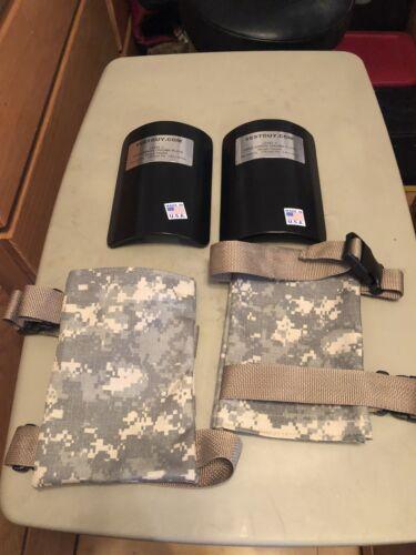 AR500 Arm/ Shin Guard Armor  ACU  Pair Free Shipping