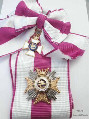 Spain - Order of St. Hermenegildo Grand cross with sash