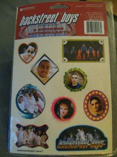 Backstreet Boys 1999 Stickers Set - Vintage 1990
