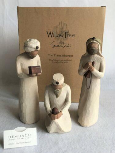 Willow Tree THE THREE WISEMEN Figurine for Nativity by Susan Lordi 26027 DEMDACO
