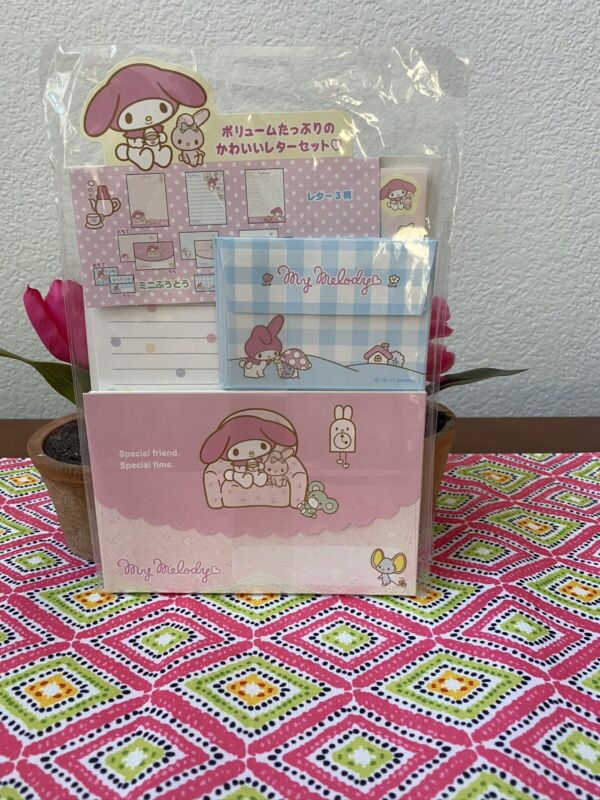 Sanrio My Melody Stationary From Japan