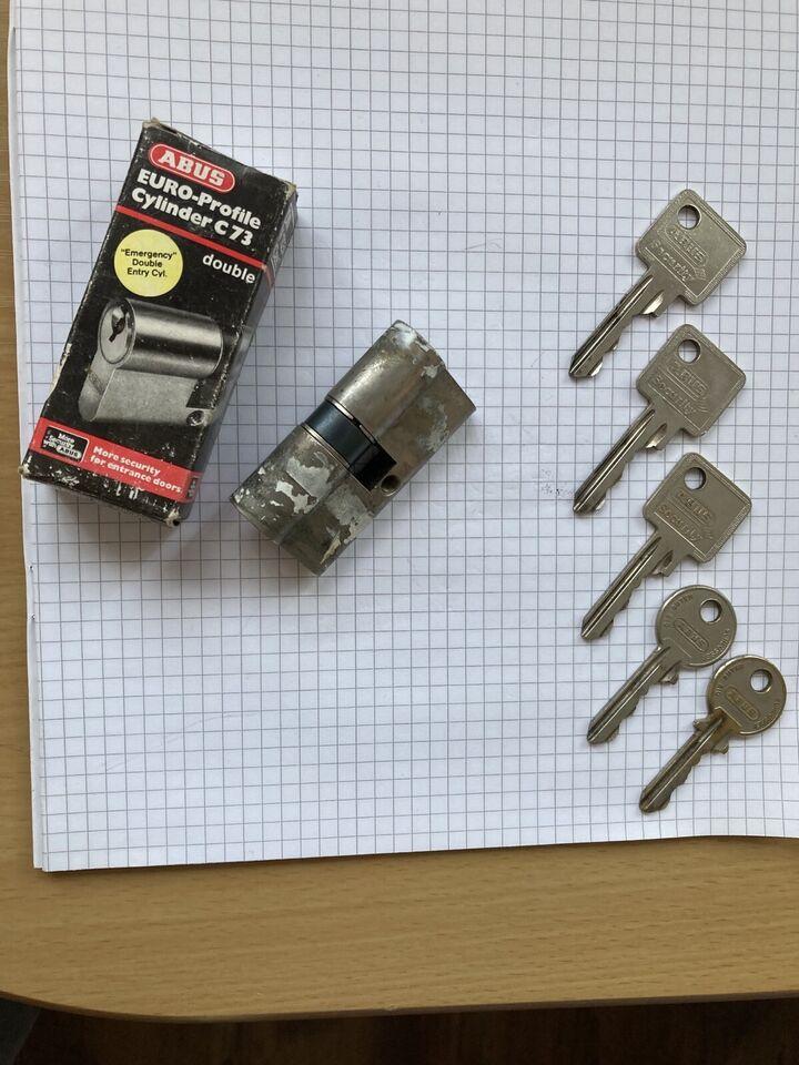 Schließ-Zylinder Fa.ABUS 30x30 mm 5 Schlüssel in Quakenbrück