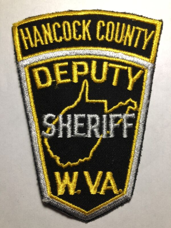 Hancock County West Virginia Deputy Sheriff Patch